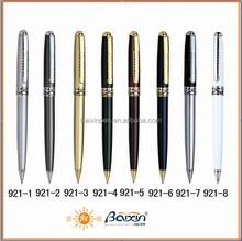 good quality metal gift pen promotional pen ,metal business ballpoint pen 921