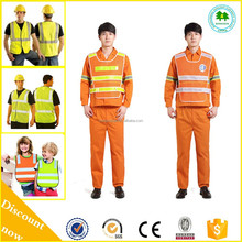 Wholesale/OEM Long Sleeve Reflective Safety Vest, Reflective Safety Clothing With Good Quality