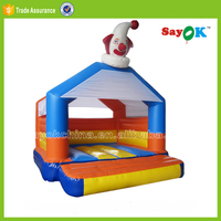 indoor PVC inflatable air jumping bouncer spiderman