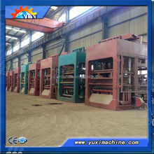 Multi-function with matched equipment hollow cement brick moulding machine