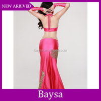 Excellent beaded tassel sexy arab belly dance costume cheap belly dance costume BD-084