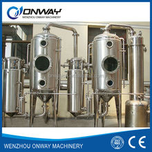 WZD Efficient and energy saving dual-stage fruit juice concentrate machine