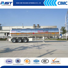 CIMC 42m3 Insulation Fuel Tanker Semi-Trailer Best Price