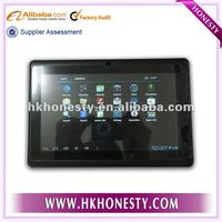 Allwinner A13 7 inch easy touch tablet pc with capacitive Screen+android 4.1+Multi Touch+1.5GHz 512MB 4GB + Webcam + Wifi