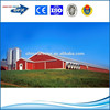 2015 custom design light steel prefabricated poultry house