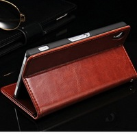 Hot sale sublimation leather best cell phone cases for sony xperia z2