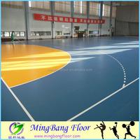 bright color pvc floor Best Price Indoor basketball Anti-slip PVC Sports Flooring In Roll