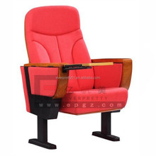 2015 Modern Design Theater Auditorium Hall Chair With Folding Table