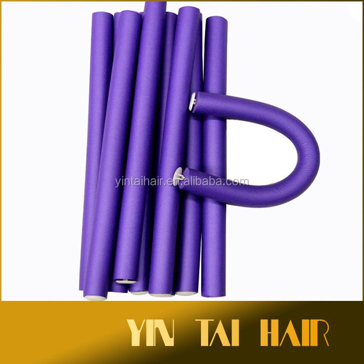 mousse souple cheveux rouleaux en caoutchouc flexy rouleau de cheveux l 39 int rieur fil de fer. Black Bedroom Furniture Sets. Home Design Ideas