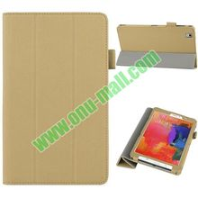 New Arrival High Quality 3-folding Stand PU Leather Case for Samsung Galaxy Tab Pro 8.4