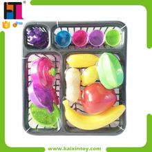 15 PCS Fruits Toy Plastic Pretend Mini Juguetes Para Ninos