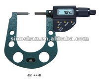 "0.3-1.3"" Carbide Tipped Painted Four Button Digital Brake measurement"