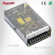 200W 12V 24V LED switching mode power supply with CE ROHS KC 2 years warranty
