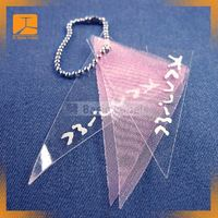 eco-friendly PP/PET/PVC printed clear plastic garment/clothing hang tag,labels and tags
