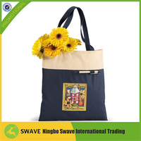 2014 Hot sale reusable divided wine tote bag