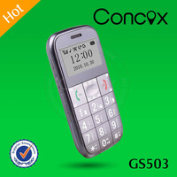 Concox GS503 Mobile phone with loud sound Big button senior speaker phone