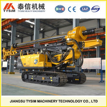 best drilling machine, rotary drilling rig with caterpillar chassis KR60C, high efficiency