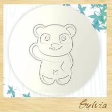 2015 Taiwan manufacture new design creative custom bear Christmas ceramic handmade Wedding Favors