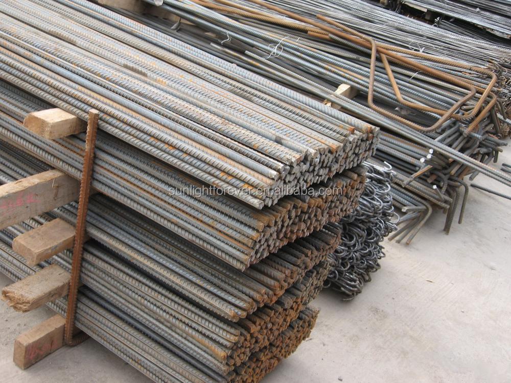 Steel Reinforcement Bars : Hrb grade steel rebar deformed bar