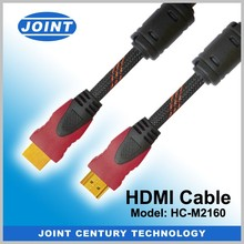 Dual color HDMI cable support Ethernet 4k*2k 3D Audio return channel
