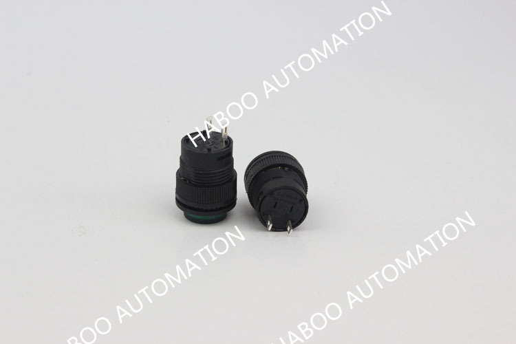 16mm r16-503b sıfırlama mini düğme anahtarı 3a 250V elektrik hiçbir geçiş kilitleme düğmesi