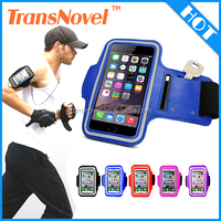 2015 New Product Waterproof Neoprene Reflective Sport Running Armband for iphone 6 / 6 plus
