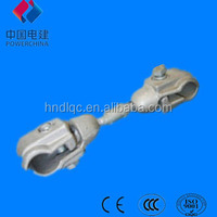 Electrical overhead line fittings Aluminum alloy FJQ Type spacers for double conductor