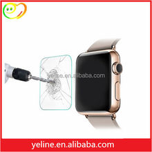 2015 new product Transparent Tempered Glass Screen Protector for apple watch