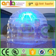 with OEM ODM service transparent tent inflatable with quick shipping