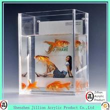 Manufacturer transparent clear acrylic fish tank
