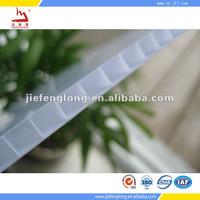 Twin wall PC Hollow Sheet Lexan In Taizhou China Polycarbonate Hollow Sheet PC Panel