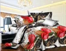 Hot sale girls Pink flower romantic famous brand name professional luxury handmade baby bedding set