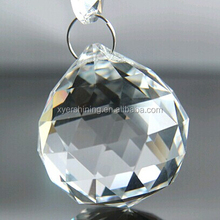 shining 30mm faceted crystal ball for chandelier