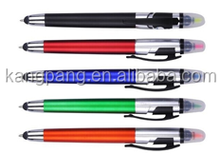 Touch screen double ended fluorescent pen