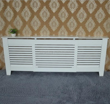 White Radiator Cover Adjustable