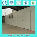 100 mm folha da porta / 0.5 mm aço pintado / sala fria articulada singe / porta de balanço duplo