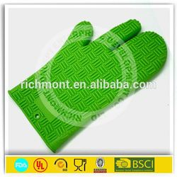 silicone oven gloves with fingers silicon glove and oven mitt