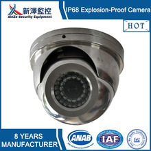 Explosion-proof outdoor dome cctv camera housing for factory