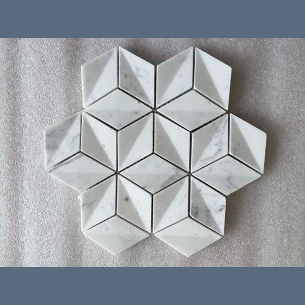 New brand 2017 Rhombus 3D Mosaic Tile