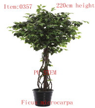 2014 hot selling SGS standard new design garden products exotic and tropical bonsai artificial plant and flowers----0357