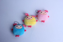 Very cheap gifts items fashion lovely plush mobile phone key chain