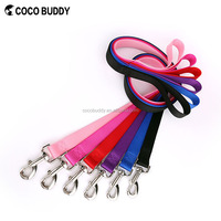 100% Pure Nylon Pet leash dog lead with matched collars