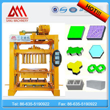 QTJ4-40 automatic small concrete block machine with big capacity