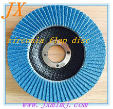 ziconica flap wheel/disc for metal /stainless steel/iron