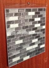 Cáscara y del palillo azulejos de mosaico Backplash baldosas de la cocina decoración