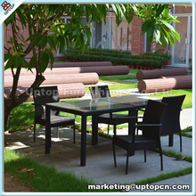 Garden furniture outdoor plastic tables and chairs set (SP-CS301)