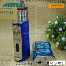 original miracle box mod 60w TC box mod with 18650 battery