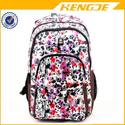 manufacturer own design cute school backpack for college girls in spring and summer