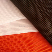 100% Polyester warp knitted 3D air mesh fabric, sandwich ,spacer,knitting,polyester