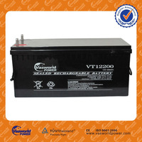 best price portable 48v 24v vrla sealed lead acid deey cycle solar agm deep cycle battery 12v 200ah for England